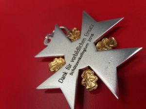 Orden Ehrenpreis Lasergravur Slider