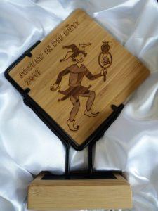 Sport Ehrenpreis Lasergravur Slider